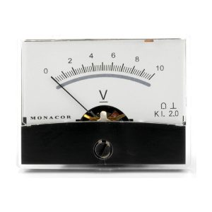 PM-2/10V | Moving coil panel meter, 10 V-0