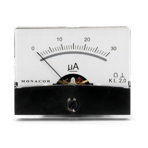 PM-2/30UA | Moving coil panel meter, 0.03 mA-0