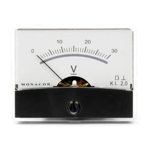 PM-2/30V | Moving coil panel meter, 30 V-0