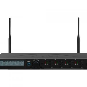 CS-W4C/5 | 4-channel diversity UHF PLL wideband receiver for conference system